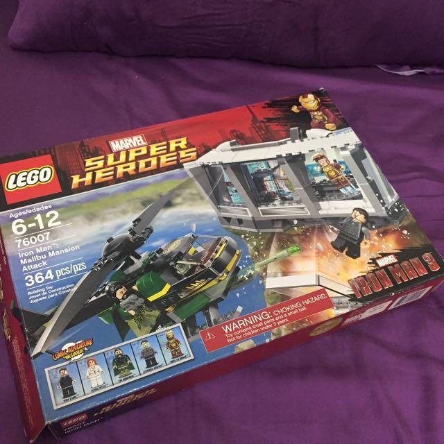 LEGO 76007 Iron Man Malibu Mansion Attack 鋼鐵人3