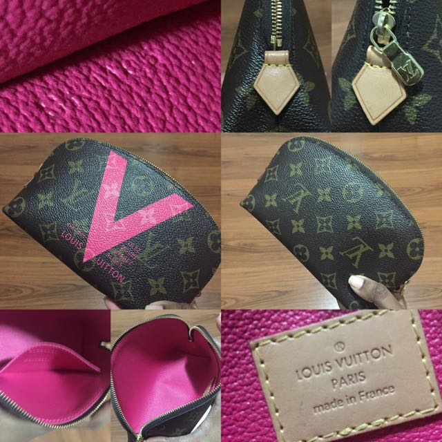 2a696de1a02c LV Summer 2015 Cosmetic Pouch PM (Limited edition)