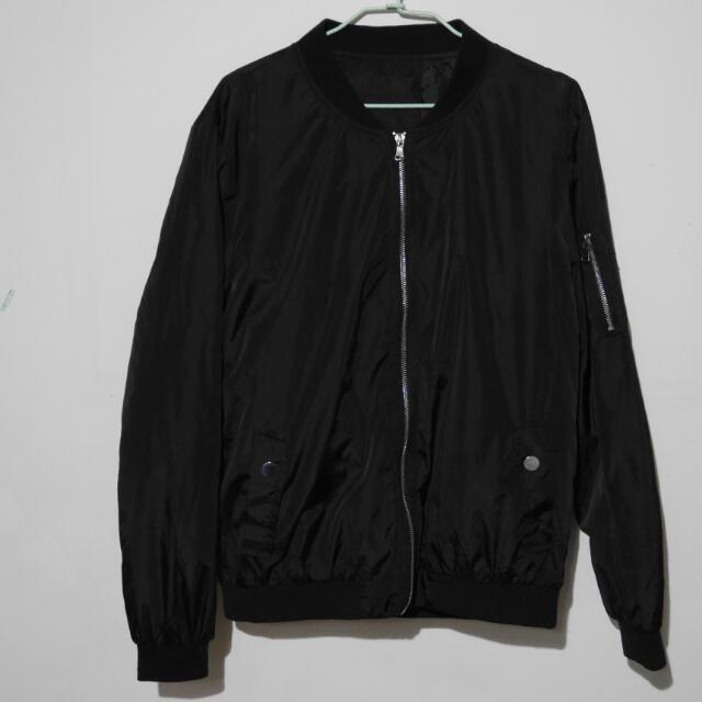 ma-1黑色飛行外套