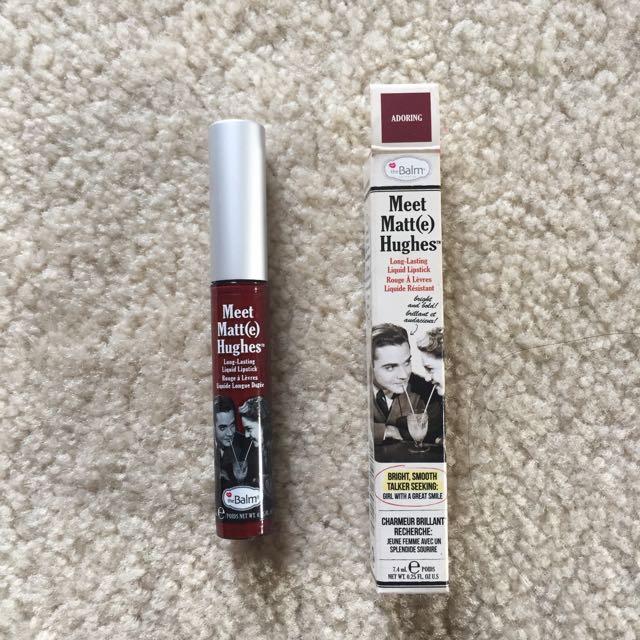 Meet Matte Hughes Liquid Lipstick By TheBalm