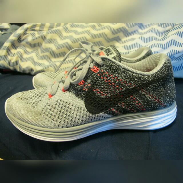 Nike Lunar3 灰粉編織❤