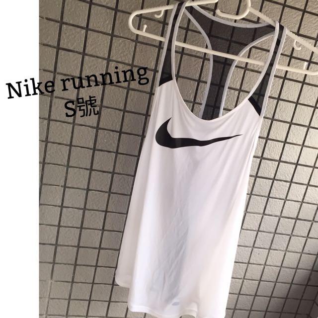 Nike Running 女生跑步必備款大挖背 露背 S號長版 背心 涼感 Dri-Fit 慢跑