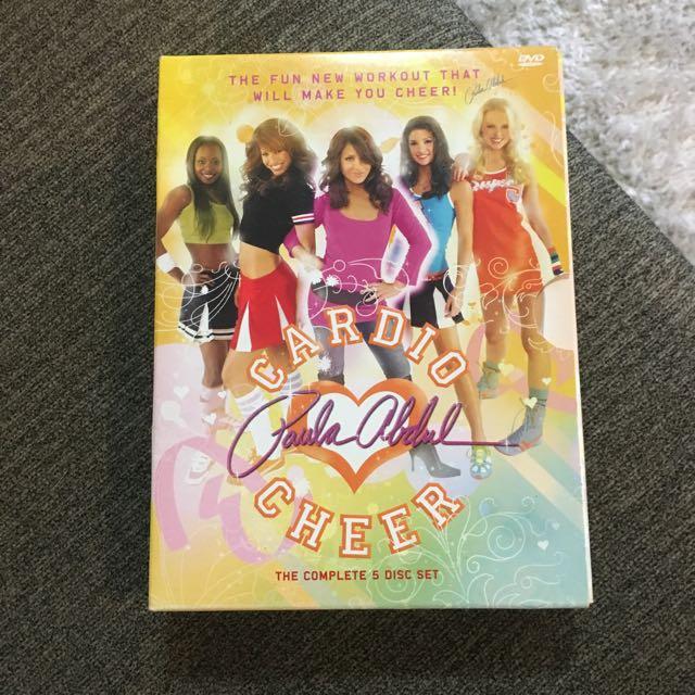 Paula Abdul Cardio Cheer DVD Exercise Set