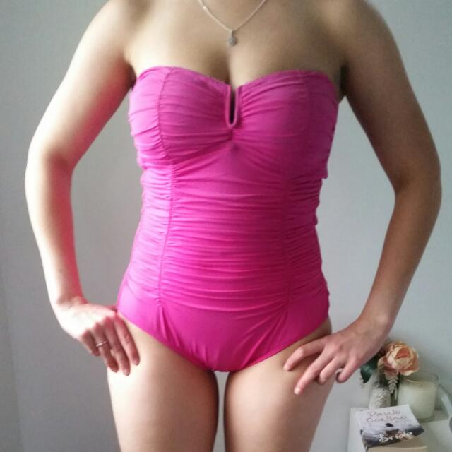 Pink One piece swimsuit Size 12