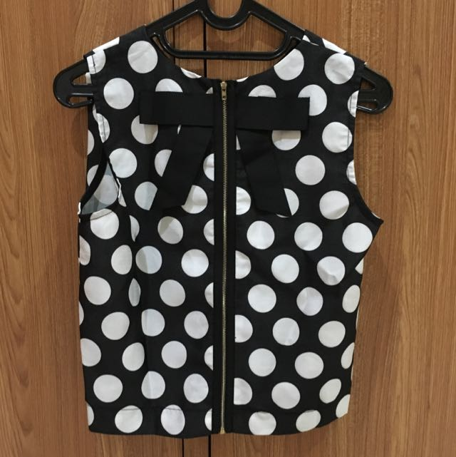 Polkadot Loose Top