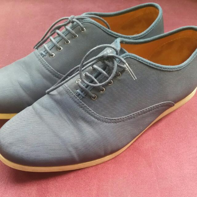 (Pending) Preloved Zara Man Size 43 Navy Shoes