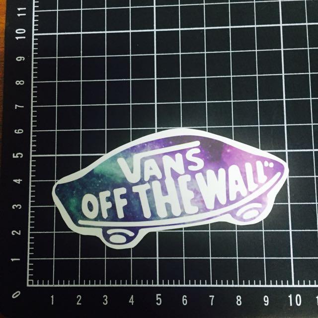 【PVC防水貼紙】vans