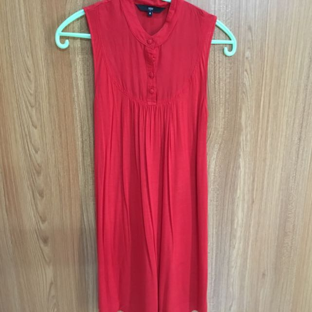 Red Cheongsam Dress