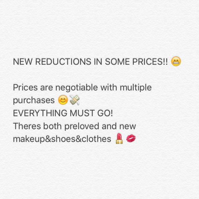 REDUCED 😊😊