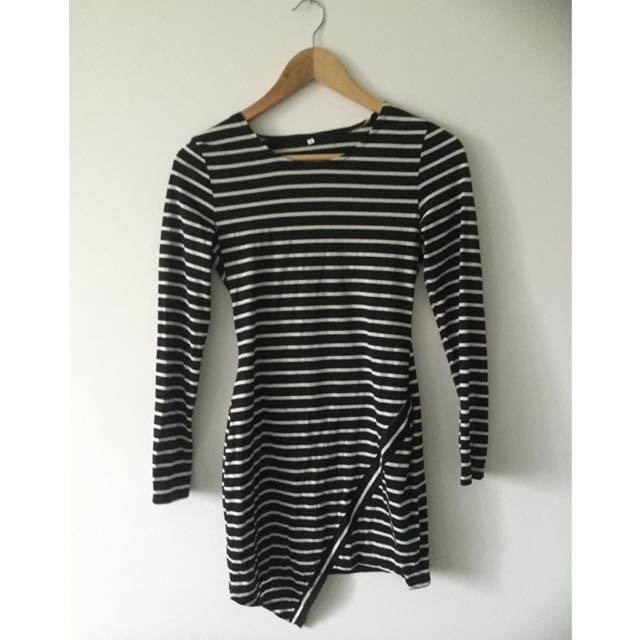 Size S Striped Dress
