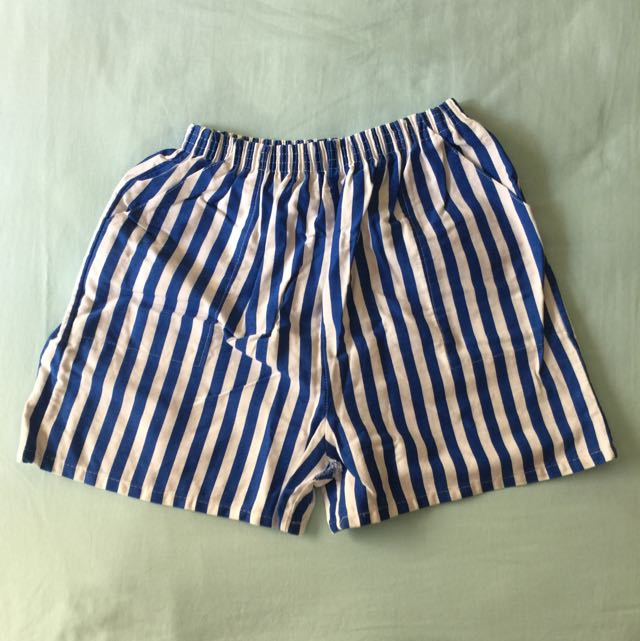 Stripes Boxer (Yellow/ Blue)
