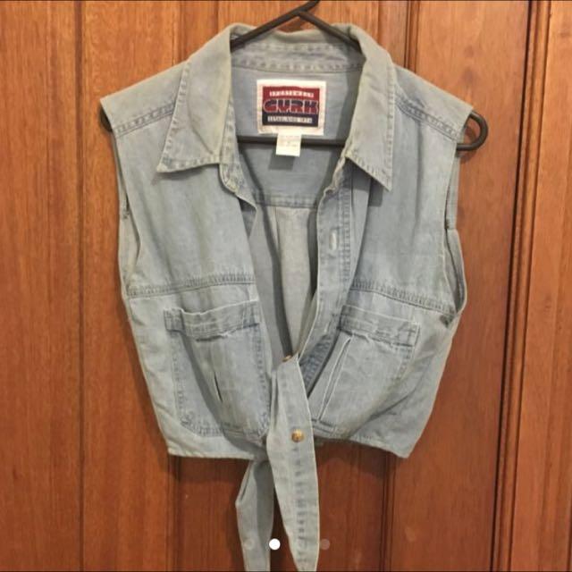 Vintage Denim Shirt