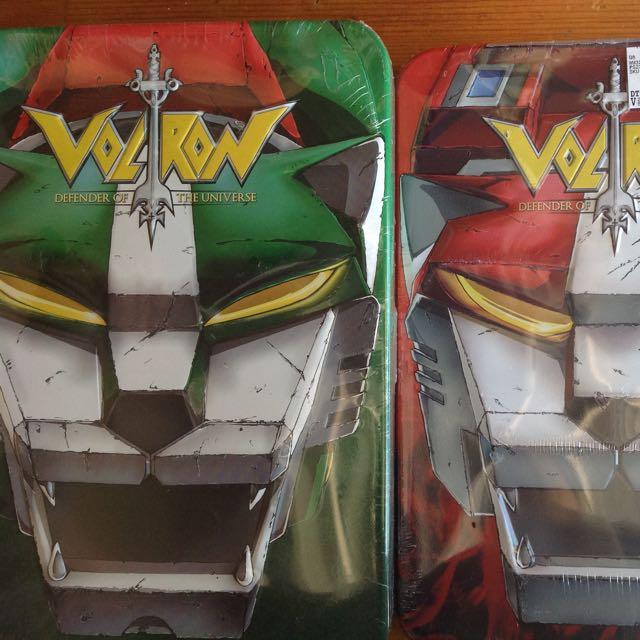 Voltron Defender Of The Universe DVDs