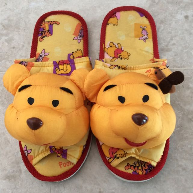 60d3b28b2f2 Winnie The Pooh Bedroom Slippers For Woman