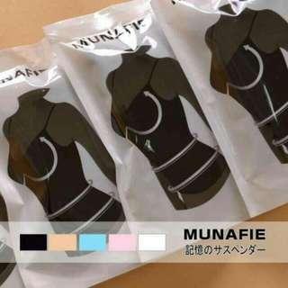 MUNAFIE 產後塑身衣2件一起賣 一黑一白m號(小s推薦)