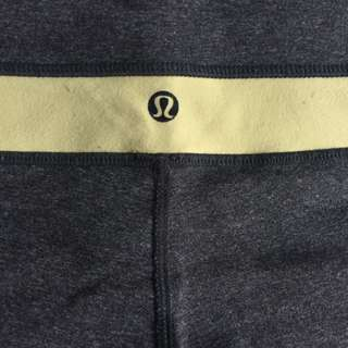 Lululemon 3/4 yoga pants