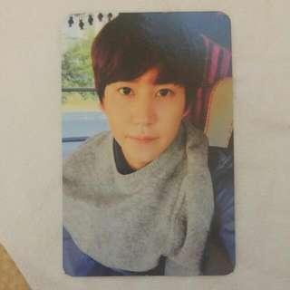 """Super Junior Kyuhyun """"Fall, Once Again"""" Photocard"""
