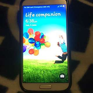 Samsung Galaxy S4 Sell Or Swap For IPhone