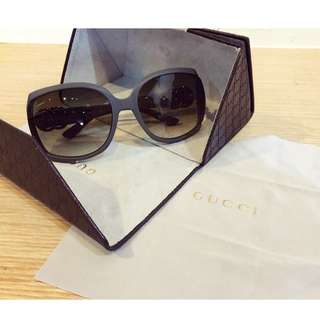 Gucci墨鏡(附上原廠眼鏡盒)