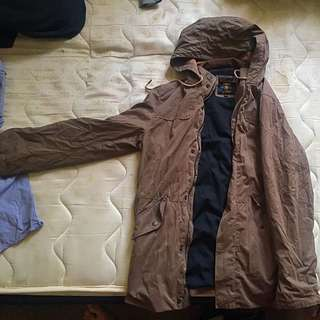 Parka Jacket Olive Green