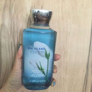 Bath And Body Works Shower Gel Sea Island Cotton
