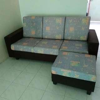 3 Seater L Sofa