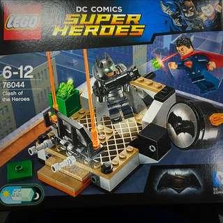 (保留中)76044 Batman Vs Superman Lego 蝙蝠俠樂高