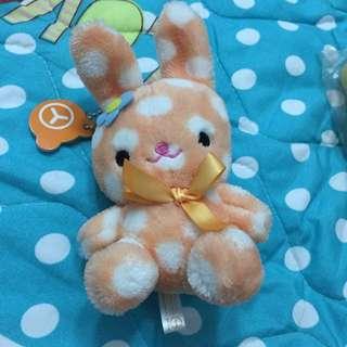 👉兔子玩偶耳機塞