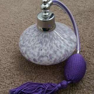 Purple Purfume Bottle