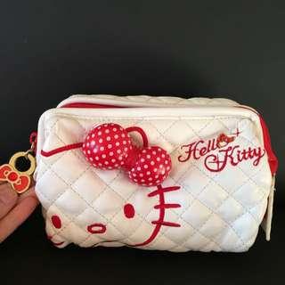 Hello Kitty Makeup Bag With Mirror