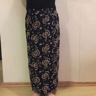 Long Floral Skirt 🌼