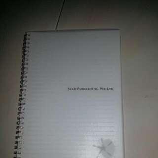 Brand New Transparent Cover Notebook