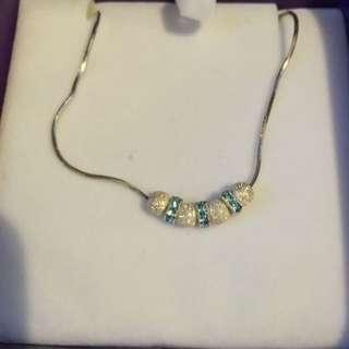 Goldmarks Sterling Sliver Charm Necklace