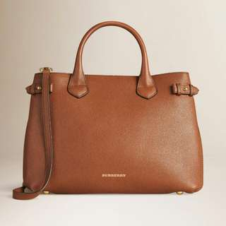 Brand New!!Burberry Bag Medium Banner With House Check
