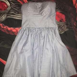 -ON HOLD- Strapless Mini Dress
