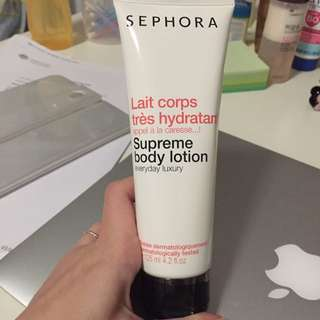 Sephora Body Lotion