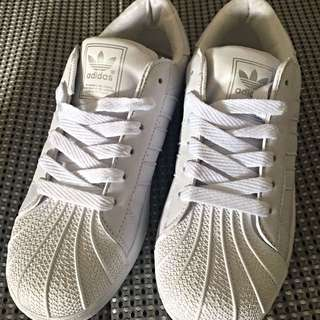 Adidas Superstar White Shoe