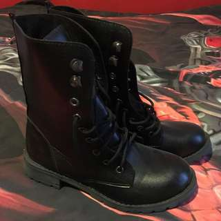 -UNDER OFFER- Combat Boots