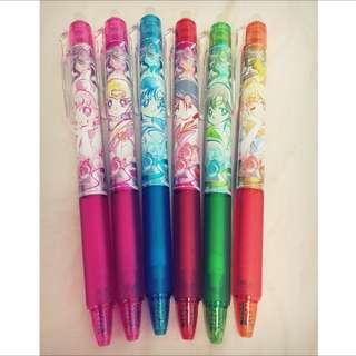 日本美少女戰士20週年紀念聯名擦擦筆