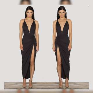 Sck The Label • Vixen Dress In Black