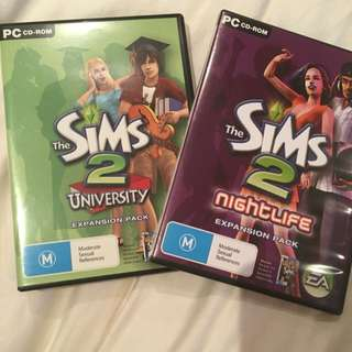 The Sims 2 (expansion Packs)