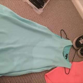 Blue Mink Dress