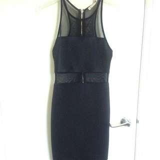 Black Knee Length Dress
