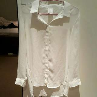 Preloved White Blouse