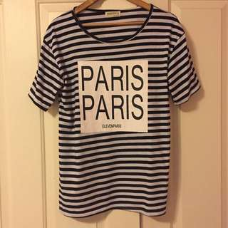 Oversized Paris T