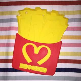 [REDUCED] MOSCHINO fries iPad Air cover
