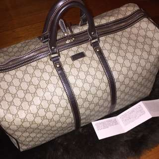 GUCCI Large carry-on duffle bag