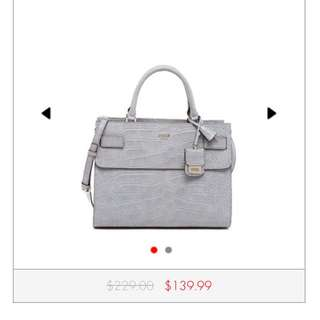 Looking For: Guess Cate Grey Satchel Bag