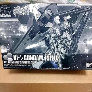 P-Bandai HGBF 1/144 Hi-v Gundam Influx