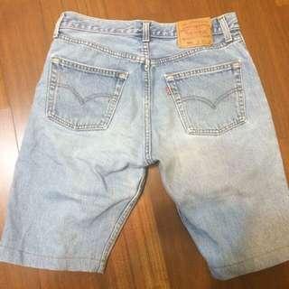 Levels 牛仔短褲 30腰
